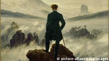 Caspar David Friedrich Wanderer über dem Nebelmeer