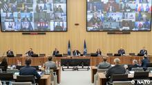 Belgien Treffen NATO HQ
