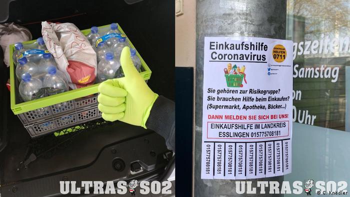 Deutschland | VfB Stuttgart Ultras | Coronavirus