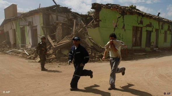 Flash Galerie Erdbeben in Conception in Chile