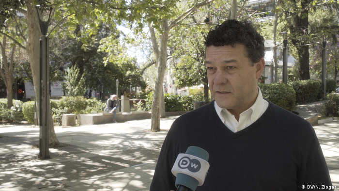 UNHCR's Philippe Leclerc (DW/N. Ziogas)