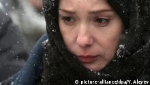 Russland | Schauspielerin Chulpan Khamatova am Set von Zuleikha Opens Her Eyes
