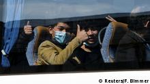 Hannover | Minderjährige Flüchtlinge aus Griechenland gelandet