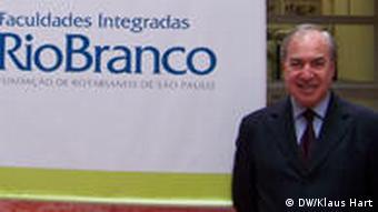 Custodio Pereira Diektor der Hochschule Rio Branco in Sao Paulo Brasilien