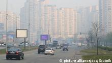 Ukraine | Waldbrände in Tschernobyl - Smog in Kiew