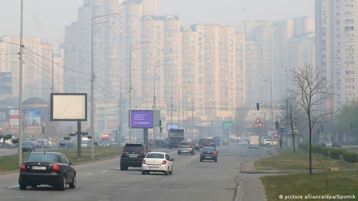 Ukraine | Waldbrände in Tschernobyl - Smog in Kiew