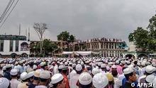 Bangladesch Corona-Pandemie | Beerdigung Prediger