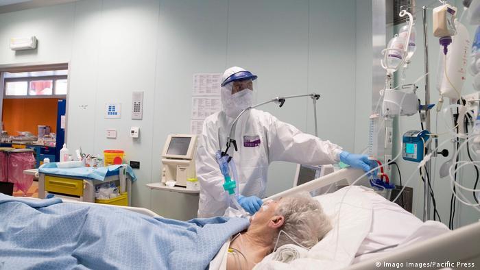 Italien Corona-Pandemie Intensivstation (Imago Images/Pacific Press )