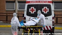 Spanien Corona-Pandemie | Fast 98.000 Corona-Todesfälle in Europa