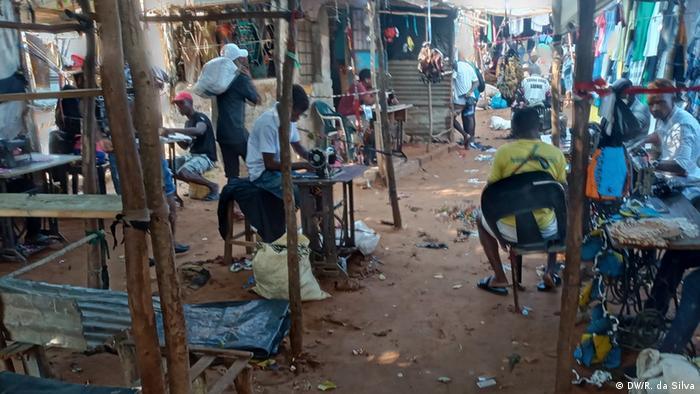 Slum u Mozambiku