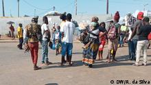 Mosambik Maputo Coronavirus Herstellung von Masken aus Capulanas