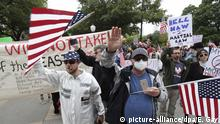 USA Austin Coronavirus Demonstranten