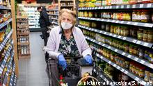 Deutschland | Coronavirus – Supermarkt (picture-alliance/dpa/S. Hoppe)