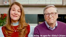 Konzert Global Citizen Together At Home Melinda und Bill Gates