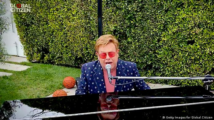 Konzert Global Citizen Together At Home Elton John (Foto: Getty Images for Global Citizen)