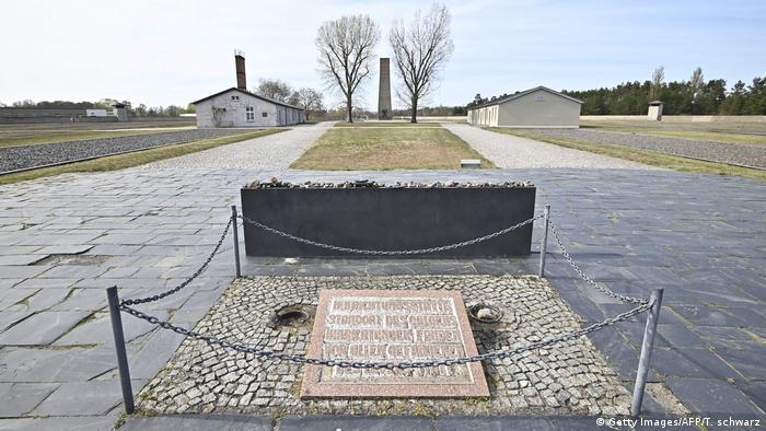Entrance to the Sachsenhausen concentration camp