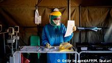 Südafrika Corona-Pandemie