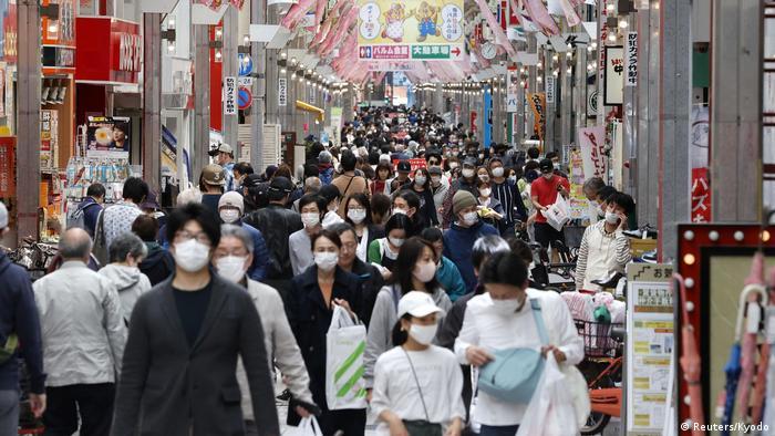 Coronavirus hoy: Japón vacunará a toda su población de forma gratuita++ |  El Mundo | DW | 02.12.2020