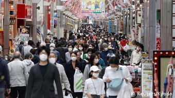 Foto de personas japonesas en Tokio