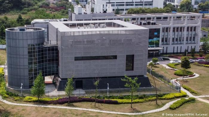 Luftaufnahme Institute of Virology Wuhan