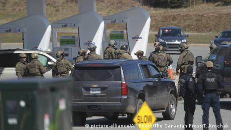 Kanada | Polizist wird bei Schüssen in Nova Scotia getötet (picture-alliance/AP Photo/The Canadian Press/T. Krochak)