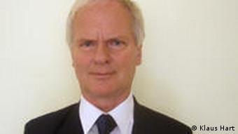 Porträt von Journalist Klaus Hart. Er berichtet für die Deutsche Welle aus Brasilien