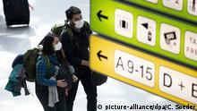 Deutschland | Coronavirus - Flughafen Berlin-Tegel