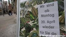 Deutschland Coronavirus Lockerungen im Einzelhandel