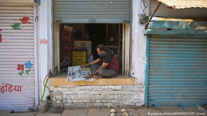 Indien Corona-Pandemie | Leben im Shutdown (picture-alliance/ZUMAPRESS/P. Kumar)