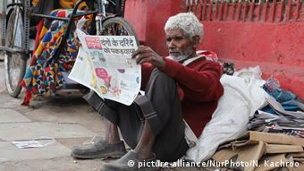 Indien Corona-Pandemie   Leben im Shutdown