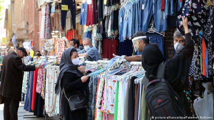 Iran| Coronavirus | Geschäfte und Märkte im Iran wieder geöffnet