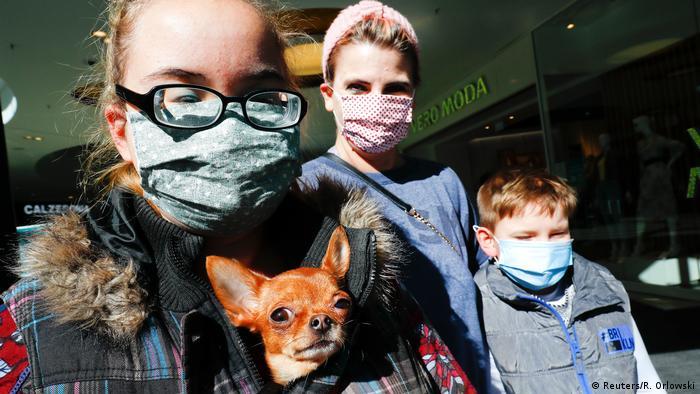 Deutschland Hanau Coronavirus Masken