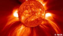 Copyright: NASA Schlagworte: Sonne, Austrahlung Eingestellt März 2010