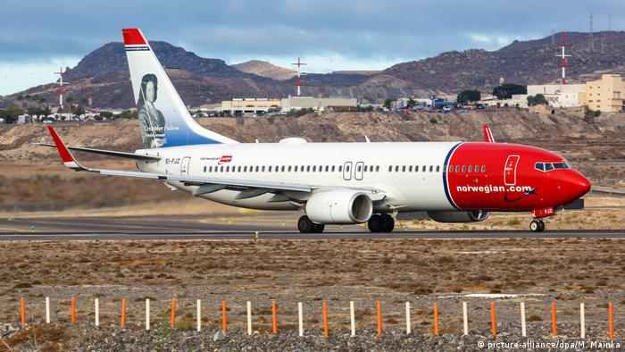 Avión de Norwegian Air.