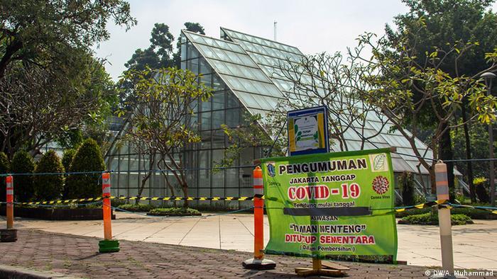 Taman Menteng, Jakarta (DW/A. Muhammad)