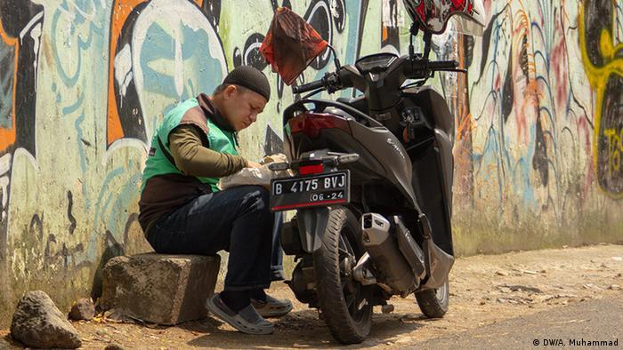 Indonesien Jakarta | Coronavirus | Soziale Einschränkungen
