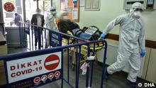 Türkei Istanbul | Coronavirus | Patient im Cerrahpasa-Krankenhaus