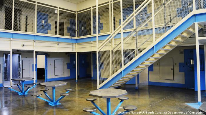 USA Gefängins in South Carolina (picture-alliance/AP/South Carolina Department of Correction)
