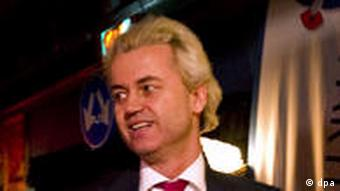 Geert Wilders, leader of Dutch far-right party