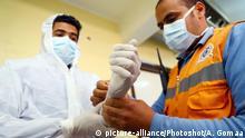 Ägypten Kairo   Coronavirus   Medizinische Mitarbeiter