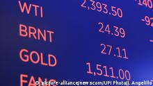 USA New York Börse Ölpreis
