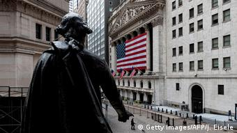 USA New York Börse NYSE (Getty Images/AFP/J. Eisele)