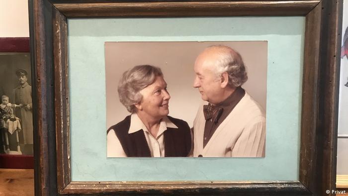 Arnold Leissler z żoną Gertrudą