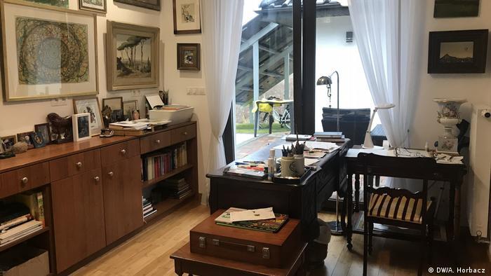 Pokój, w którym mieszka Arnold Leissler (DW/A. Horbacz)