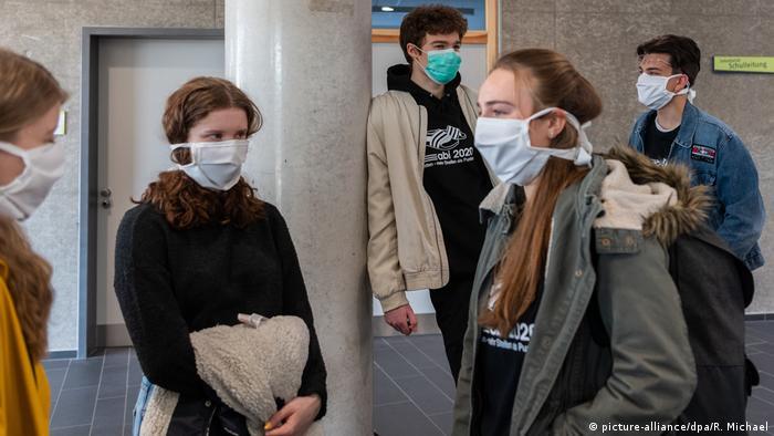 Maturanti u jednoj gimnaziji u Drezdenu