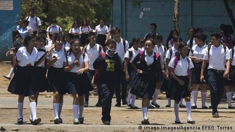 Nicaragua Coronavirus Schule (imago images/Agencia EFE/J. Torres)