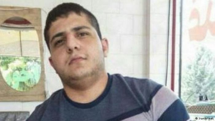 Shayan Saeedpour Iran jugendlicher Straftäter hingerichtet EINSCHRÄNKUNG (Iranhr.net)