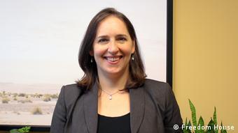 USA Freedom House Senior Analyst Sarah Cook (Freedom House)