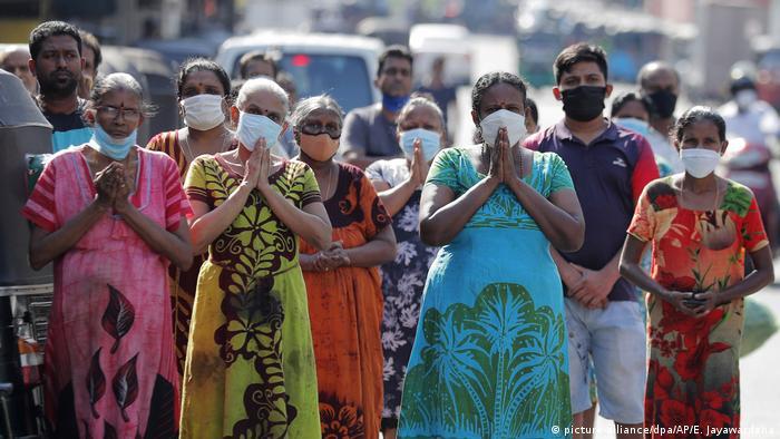 Sri Lanka | erster Jahrestag der Anschläge vom Ostersonntag in Colombo (picture-alliance/dpa/AP/E. Jayawardena)