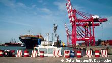 Container Hafen Benin